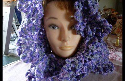 Crochet - Echarpe finie!