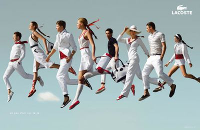 LACOSTE: A little air on earth!
