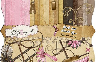 """One touch of"" by digiscrap.ch"