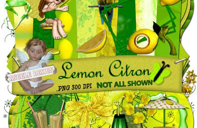 Kit Lemon Citron de AngeleDesign