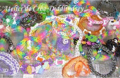 Bracelet en élastiques & Ci : Quel matériel choisir pour réaliser vos créations Rainbow loom