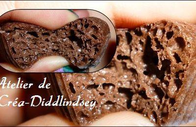 modelage : coeur coulant au chocolat ! Oui mais en polymère liquide