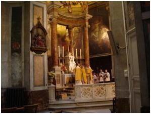 Archives...Messe solennelle en la fête de St Charles Borromée