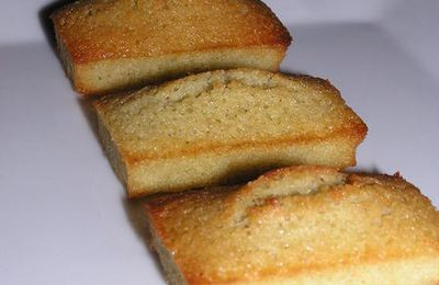 Mini financiers à la pistache