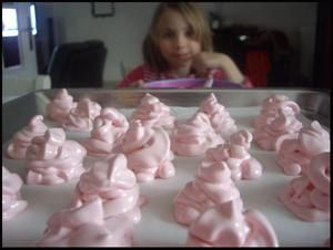"*-* meringues françaises ""so girly"" pour la chandeleur *-*"