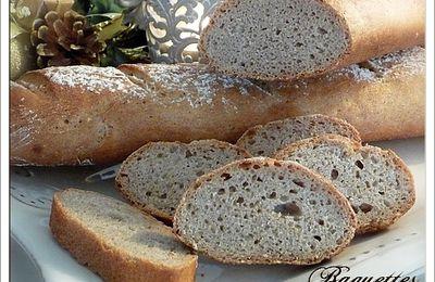 Baguettes farine de seigle