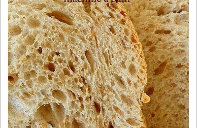 Pain au son et au levain ...map