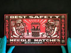 """best safety needle matches"" édition ""le Dernier Cri"""