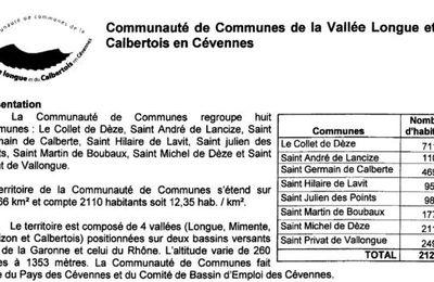Communauté des Communes de la Vallée Longue et du Calbertois