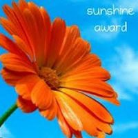Sunshine (Award) on a not so cloudy day... :)