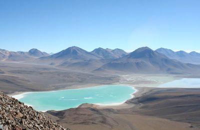 Le Licancabur et le desert d Atacama...
