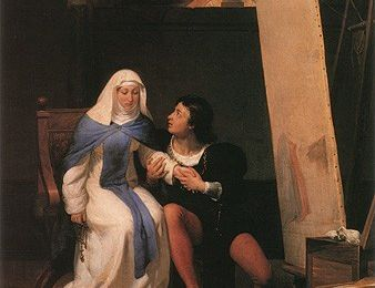 Un tableau, une question : Delaroche.