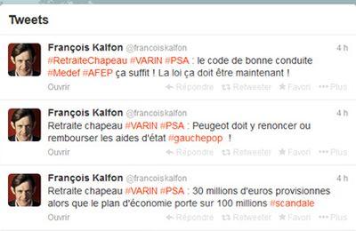 Le PS et François Kalfon bien mal placés pour faire la morale !