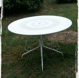 Table de jardin, revisitée