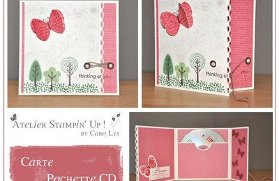 Atelier Stampin'Up! du 10 octobre 2010