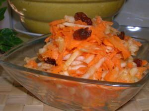 Salade Carottes Pomme Orange...