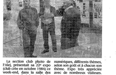 L'expo du club photo de Saint André