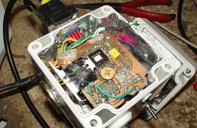 Test du refroidissement par module Peltier de la webcam SC3