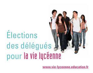 Election des Délégués au CVL - Octobre 2008