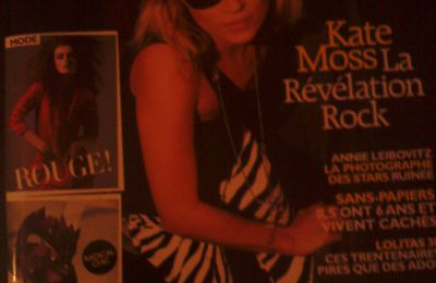 Kate Moss chantera ... ou pas