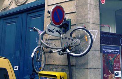 Rhââââââ les Vélibs !!!