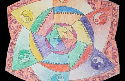 Mandala crée par Emmanuelle.