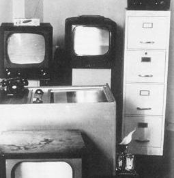 TV Decollage @ Wolf Vostell. 1963