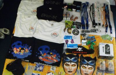 gamescom 2009 - 1 - les goodies
