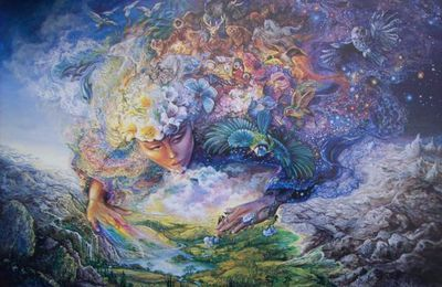 Josephine Wall - breath of Gaïa