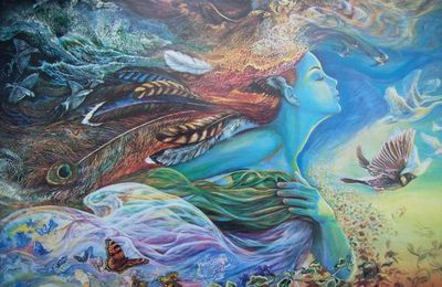 josephine Wall - spirit of flight