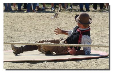 Seignosse : spectacle western