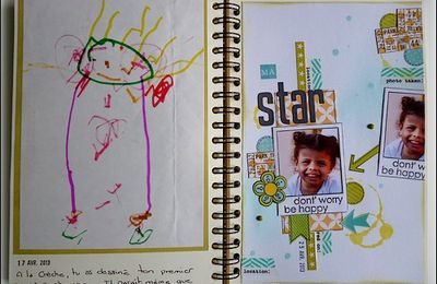 My Family Diary 2013: Pages 15,16 et 17 !