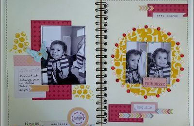 My Family Diary: Pages 18,19 et 20 !