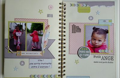 My Family Diary 2013: Pages 21,22 et 23 !