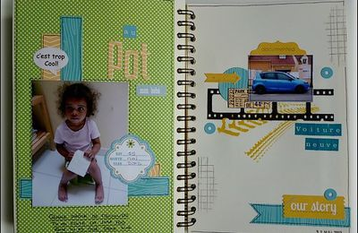 My Family Diary 2013: Pages 24, 25 et 26 !