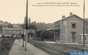 fontaines sur saone