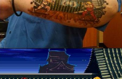 Street Fighter tatouage