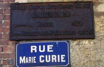 Plaque de cocher : Garennes. Epieds - Boisset-les-Prévanches