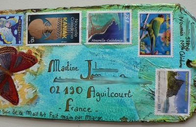 Echange de mail art...