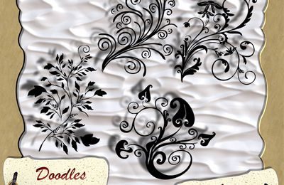 Freebies Lot n°02 de Doodles en CU par Laureline
