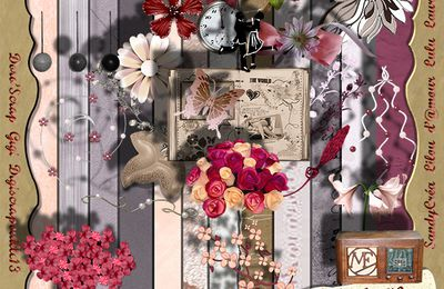 "Freebies Kit ""Vintage Touch"" partie 2"