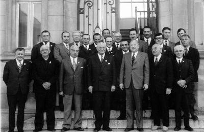 Le conseil municipal de 1965
