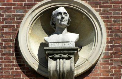 Buste de Jean-Antoine Houdon, par Ernest-Eugène Hiolle