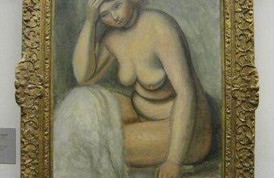 Le modèle blond, tableau d'André Derain, musée de l'Orangerie