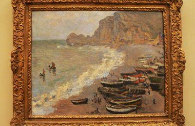 Etretat, Claude Monet, musée d'Orsay
