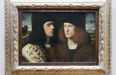Portrait de deux jeunes hommes, musée du Louvre
