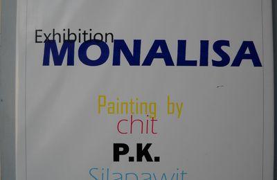 Mona Lisa vu par des artistes Thaîlandais.