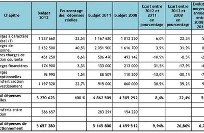 budgeting articles or reviews 2012