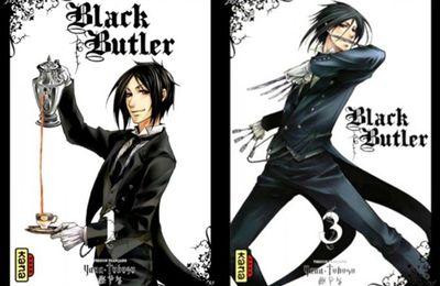 Yana Toboso, Black Butler, tome 1, 2, 3 & 4