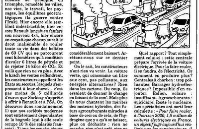 """""""Nucléaire et voiture électrique..."""